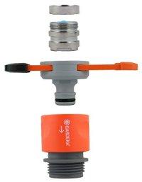 GARDENA Hose Connector Set for Indoor Taps 066283369395 ...