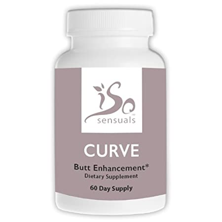 Use With IsoSensuals CURVE Butt Enhancement Cream & Get Bigger Results Faster! IsoSensuals CURVE Butt Pills directs the body to send and store more fat on the butt, hips and thighs. Combine with IsoSensuals CURVE Butt Enhancement Cream which is clini...