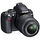 31gOv7R6PNL. SL160  Top 10 Digital SLR Cameras for January 1st 2012   Featuring : #7: Nikon D3000 10.2MP Digital SLR Camera with 18 55mm f/3.5 5.6G AF S DX VR Nikkor Zoom Lens