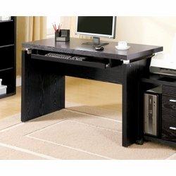 Picture of Comfortable Black Computer Desk - Coaster 800821 (B005LWSU5Y) (Computer Desks)