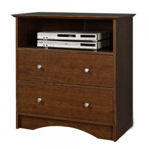 Image of Entertainment Center TV Stand in Medium Brown Finish (AZ00-50590x31593)