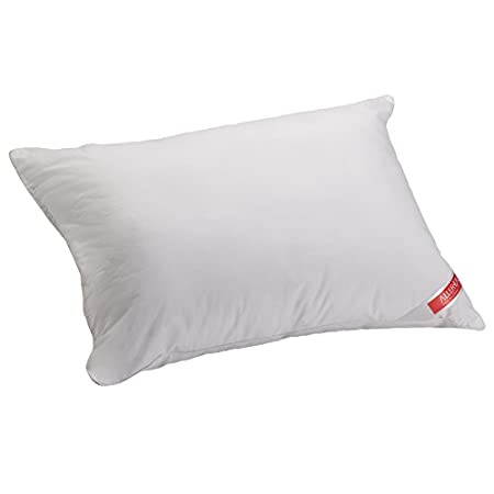 The AllerEase Cotton Travel Pillow is the perfect pillow to travel with if you are an allergy sufferer. The soft cotton fabric prevents allergens like dust and pollen from accumulating in the pillow. Filled with hypoallergenic fiber, this pillow prov...