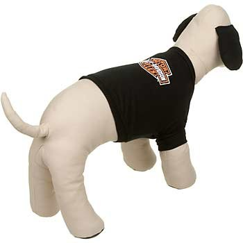 Dog T-shirts: Harley Davidson Biker Dog