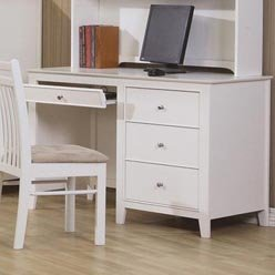 Picture of Comfortable Selena Computer Desk with Drawer Storage by Coaster (B0051PEE06) (Computer Desks)