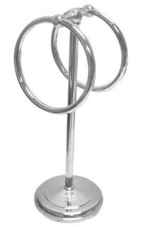Aquatico Small 2-Ring Fingertip Fingertip Towel Holder ...