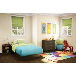 Image of Kids Bedroom Furniture Set 1 in Chocolate - South Shore Furniture - 3159-BSET-161 (3159-BSET-161)