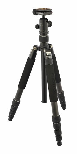 Giottos VGR8255-S2N VGR Classic 7-Layer 5-Section Carbon Fiber Tripod/Monopod with Ballhead and ARCA Quick Release Plate