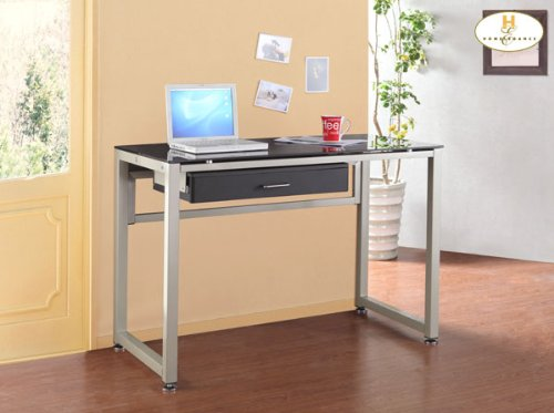 Picture of Comfortable Computer Desk of Network Collection by Homelegance (B004ZOARWS) (Computer Desks)