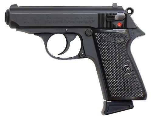 【BIO BB弾1700発付】 マルゼン ワルサー NEW PPK/S ブラックモデル ブローバック ガスガン