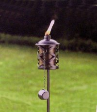 """""""ABC Products"""" - Clamp-on-Deck - Railing Tiki Torch ..."""