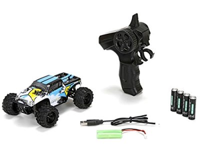 ECX-Ruckus-Cyan-Black-124-4WD-24GHz-Electric-RTR-RC-Monster-Truck