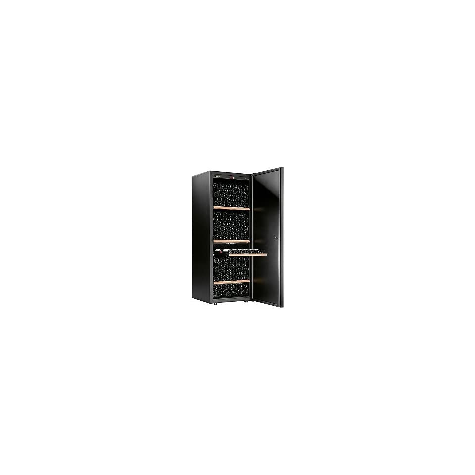 Artevino Wine Cellar Eurocave Comfort 266 Wine Cellar 1 Temp Black Solid Door On Popscreen