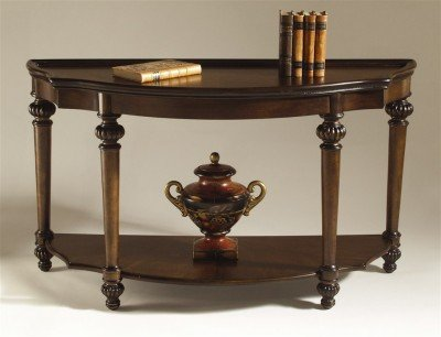Image of Magnussen Ferndale Shaped Console Table (T1255-92)