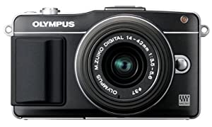 Olympus E-PM2 Interchangeable Lens Digital Camera with 14-42mm Lens (Black)
