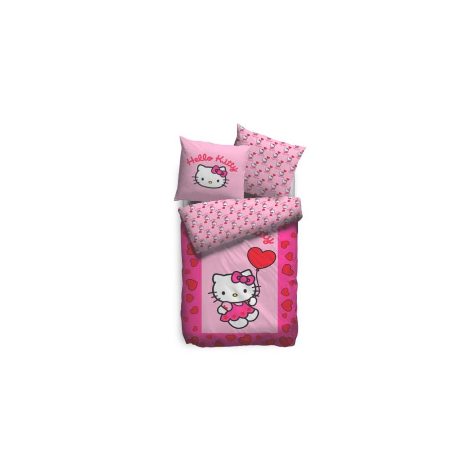 Parure De Couette Hello Kitty Best Hello Kitty Parure De Lit Sweetheart 135 X 200 Cm On Popscreen
