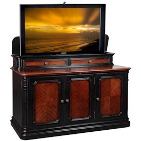 Image of TV Lift Cabinet Sycamore TV Stand (AT004310S)