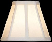 Lite Source CH524-6 6-Inch Lamp Shade, Cream - Lampshades ...