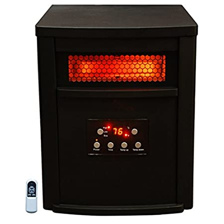 This Lifesmart Life Pro Infrared heater offers you safe, healthy heat and is ultra-efficient for a large room. This heater features 6 of our quartz infrared elements. All electrical components are warrantied for 1 year. There is lifetime washable ai...