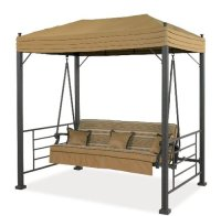 Garden Winds Replacement Canopy for Sonoma Swing, RipLock ...