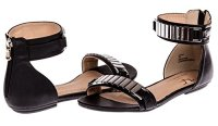 V1969 Italia Womens Designer Shoes Leora Sandal by VERSACE ...