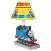 True line trains mp36, thomas the tank engine table lamp