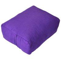 YogaDirect Zen Pillow with Cotton Batting, Purple Sporting ...