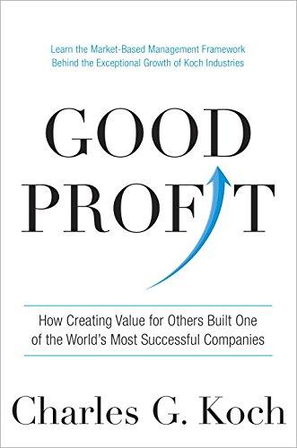 Charles G. Koch - Good Profit epub book