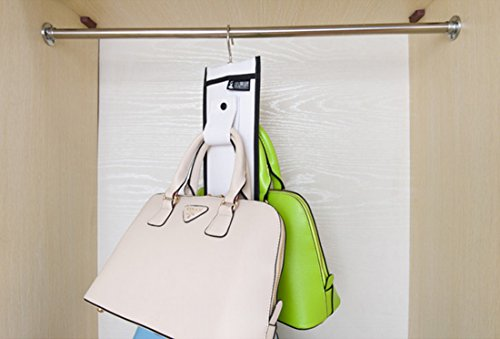 Hanging Handbag Closet Hats Organizer Purse Storage Shelf