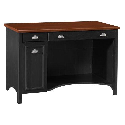 Picture of Comfortable Bush Furniture Fairview Computer Desk, Antique Black/Hansen Cherry (B000W8LENM) (Computer Desks)