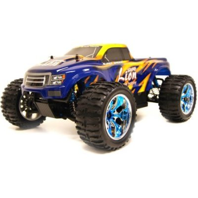 Road-Rippers-Monster-Truck-Featuring-110th-Scale-Remote-Controlled-Truck-and-Chrome-Wheel-Rim-Great-for-Indoor-or-Outdoor