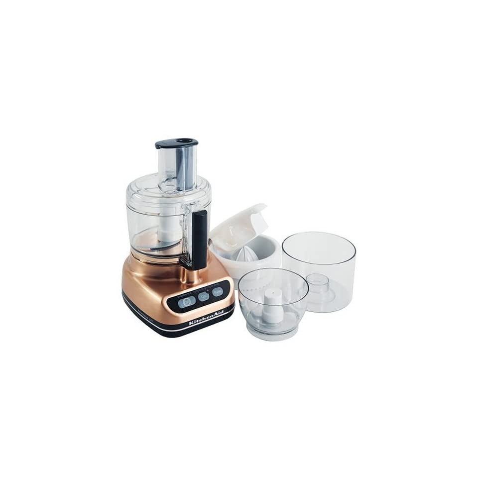 Kitchenaid Küchenmaschine Video Kitchenaid Kfp690cp Professional Food Processor Brushed Copper On
