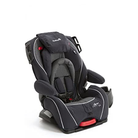 The Alpha Omega Elite Convertible Car Seat by Safety 1st is an extended-use car seat with superior comfort and convenience features to keep your growing child safer while riding in the car; from a tiny baby coming home from the hospital to an older c...