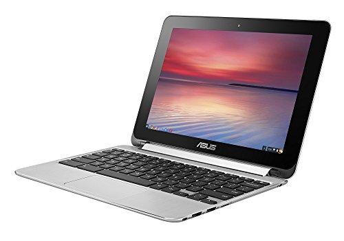 ASUS ノートパソコン Chromebook Flip C100PA-RK3288 タッチパネル/10.1インチ/シルバー