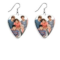 One Direction 1D Guitar Pick Plectrum Playable Earrings ...