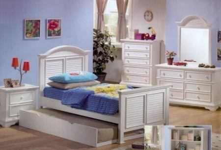 Image of Hillcrest Kids Full Bedroom Set -Coaster 400121F (B005LWQQKA)