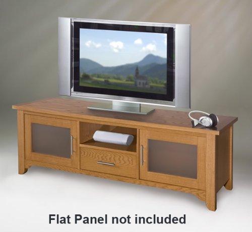 buy low price 65 inch wide credenza unit tv stand audio rack combo elt786. Black Bedroom Furniture Sets. Home Design Ideas