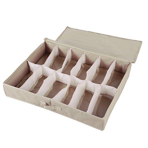 Shoe Organizer Storage Container Holder Box Under Bed