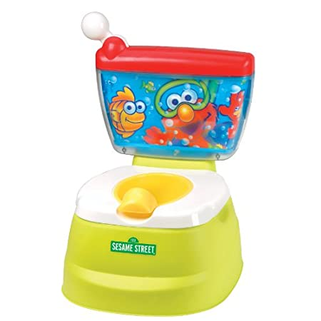 Kolcraft partners with Sesame Street to provide dependable, developmental baby gear using the characters and educational elements Sesame Street has championed for four decades. The Sesame Street Elmo Adventure Potty Chair with adult seat adapter rese...