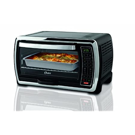 Convection Plus Digital Equals Cooking Perfection This large capacity countertop oven from Oster features convection baking to circulate hot air throughout the oven for flakier crusts, crispier edges and even-browning in less time. An entirely d...