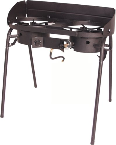 Masterbuilt Double Burner Propane Camp Stove Patio