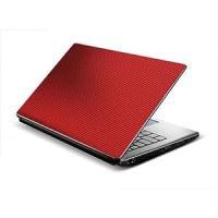 Tufkote Laptop Skin 3D Carbon Fiber Design RED - Free Size ...