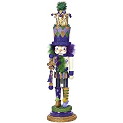 Kurt Adler Hollywood Jester Nutcracker, 20-Inch