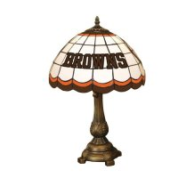 NFL Cleveland Browns Tiffany Table Lamp - tiffany lamps