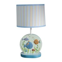 Buy Lambs & Ivy Nursery Lamp with Shade, Under the Sea ...