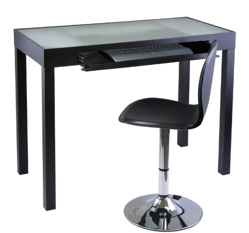 Picture of Comfortable Darrel Computer Desk with Swivel Chair (Black) (31