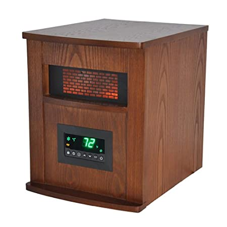 The Lifesmart Life Pro Series Infrared heater offers you safe, healthy heat and is ultra-efficient for a large room. This heater features 6 of our quartz infrared elements that are actually wrapped in a metal heat exchanger coil. All electrical comp...