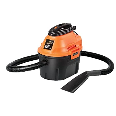Designed for car enthusiasts, this Armor All wet/dry vac comes with a powerful 2 HP motor and compact design. The vac easily picks up dirt for a thorough cleaning and the blower function is ideal for cleaning and drying motorcycles, car grilles and w...