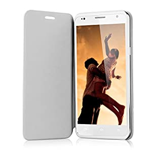 Review of 2015 Newest 5.5'' Timmy E86 Android 4.4 Kitkat Quad Core Unlocked 3g Smartphone - Ips Hd Mulit-Touch Screen Mtk6582 1.3ghz [one Micro+one Standard ] Dual Sim Dual Standby Mobile Phone 1g Ram 8g Rom Gesture Sesnsing Wake Gestures Gps Wifi Cellphone 3g Sim-Free Phablet + Free Original Pu Leather Stand Case Cover (white)