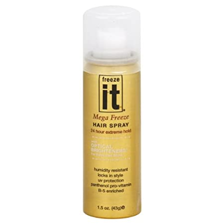 With optical brighteners for enhanced shine. Humidity resistant. Locks in style. UV Protection. Panthenol Pro-Vitamin B-5 enriched. Extra Benefits: Extreme freeze hold; Quick dry, non sticky; Enriched with panthenol Vitamin B-5; Optical brighteners f...