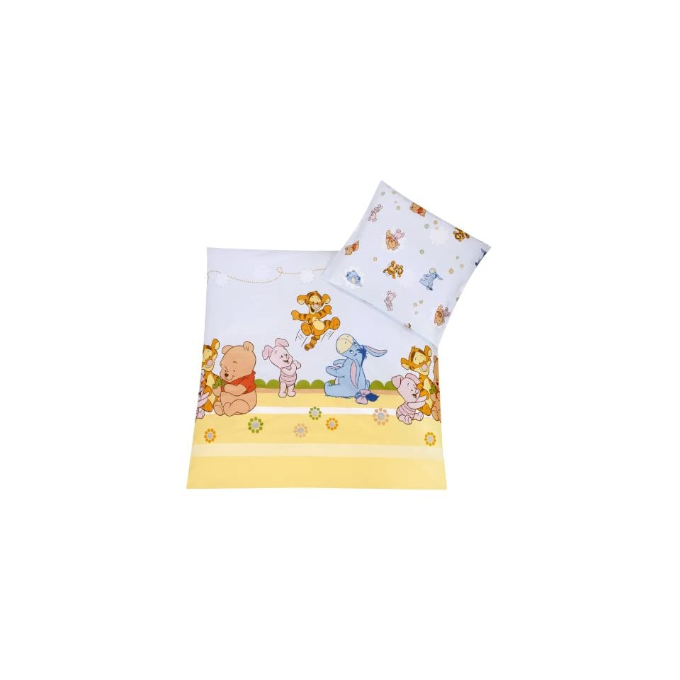 Amazon De Bettwäsche Julius Zöllner 8510010003 Baby Pooh And Friends Bettwäsche 80x80